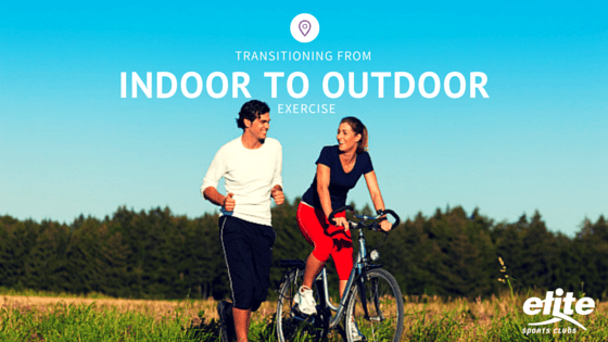 Transitioning From Indoor to Outdoor Exercise
