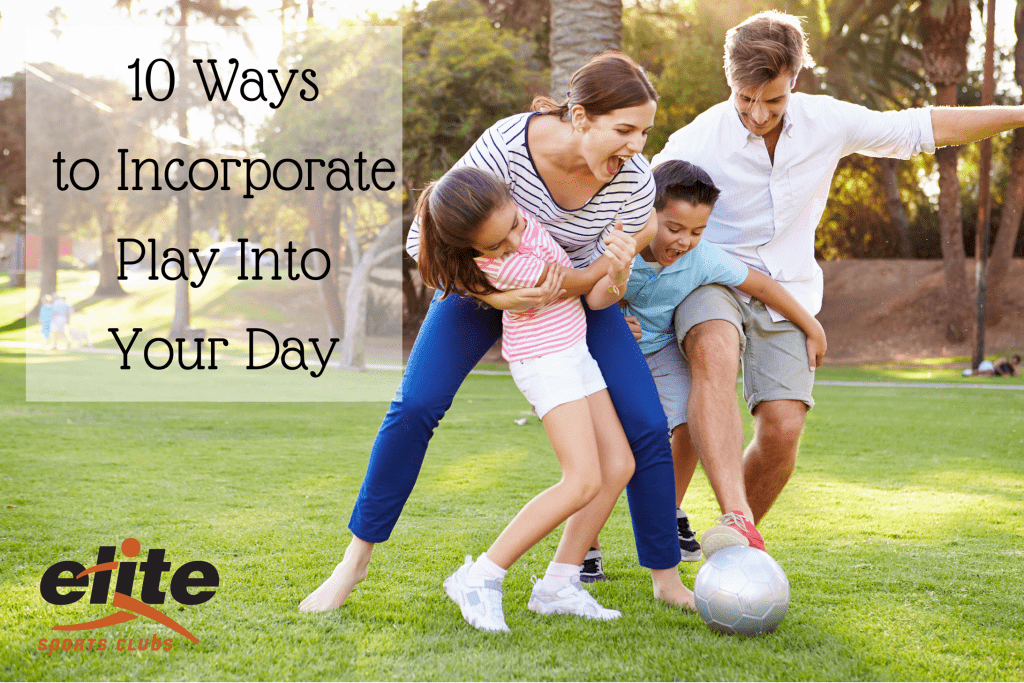 10 Ways to Incorporate Play Into Your Day