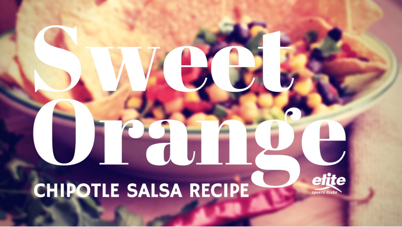 Sweet Orange Chipotle Salsa Recipe