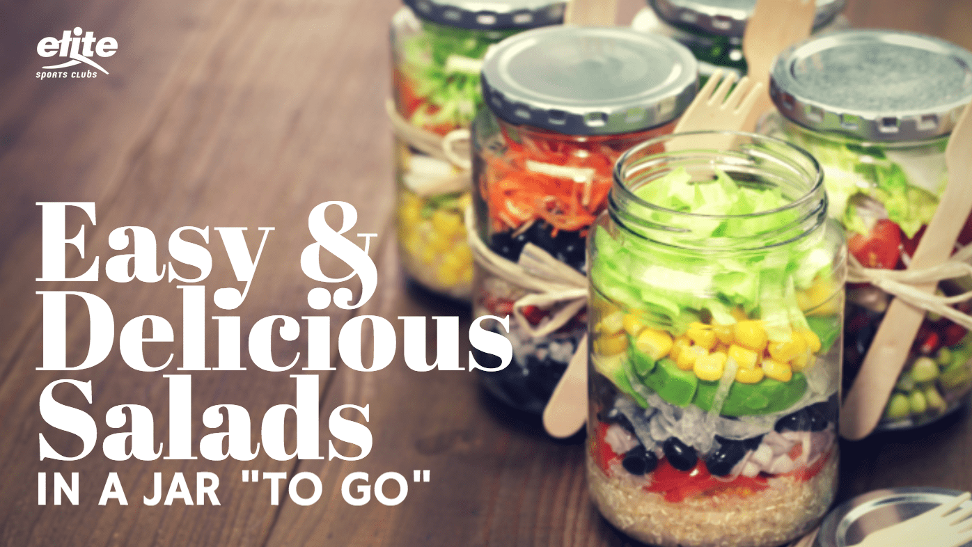 Easy and Delicious Salads in a Jar To Go