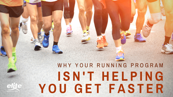 Why Your Running Program Isn't Helping You Get Faster