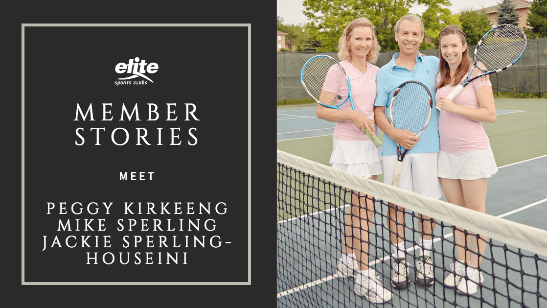 A Family Affair - New Dynamic on the Tennis Court for Mom, Dad, and Daughter