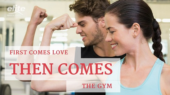 First Comes Love, Then Comes The Gym