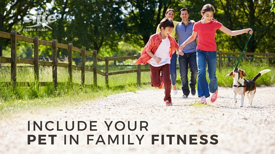 Include Your Pet in Family Fitness