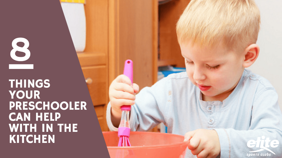 8 Things Your Preschooler Can Help with in the Kitchen