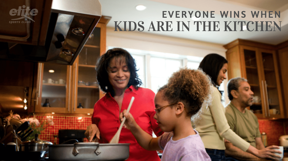 Everyone Wins When Kids are in the Kitchen