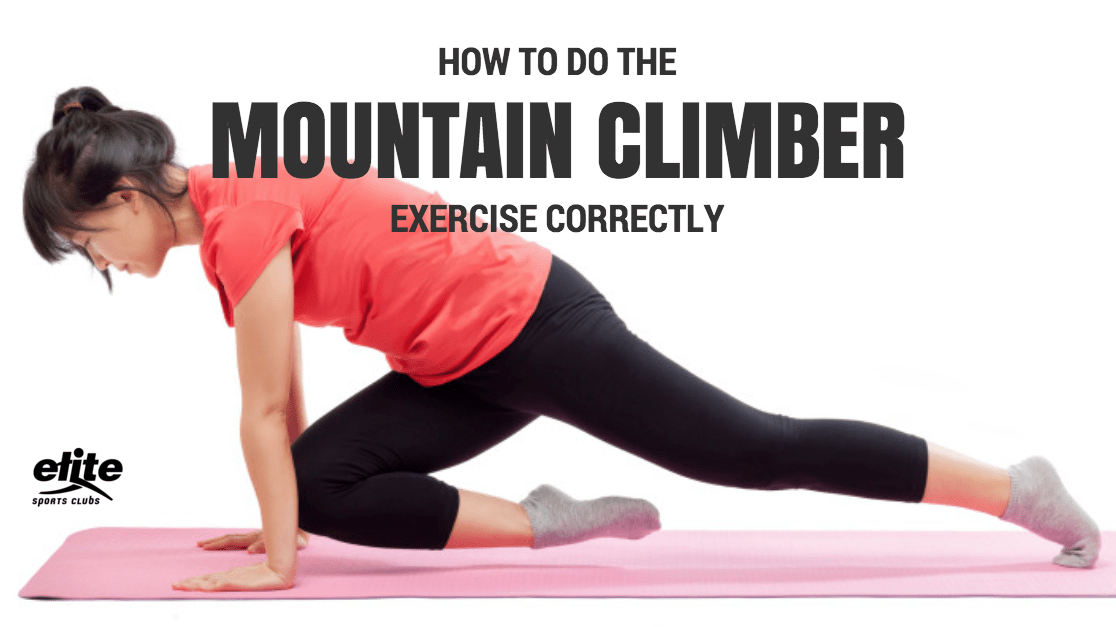 How to Do the Mountain Climbers Exercise Correctly