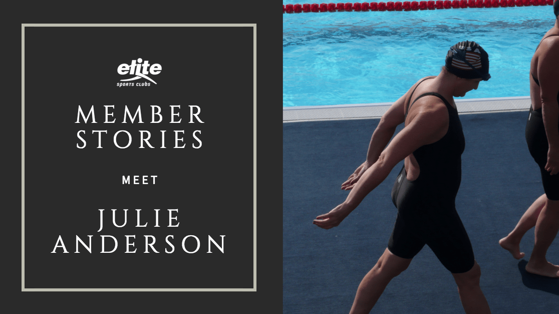 Member Stories - Julie Anderson Competes in World Masters Swimming