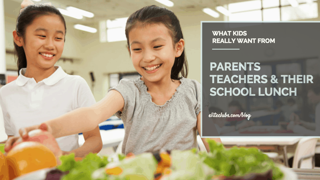 What Kids Really Want from Parents, Teachers & School Lunch