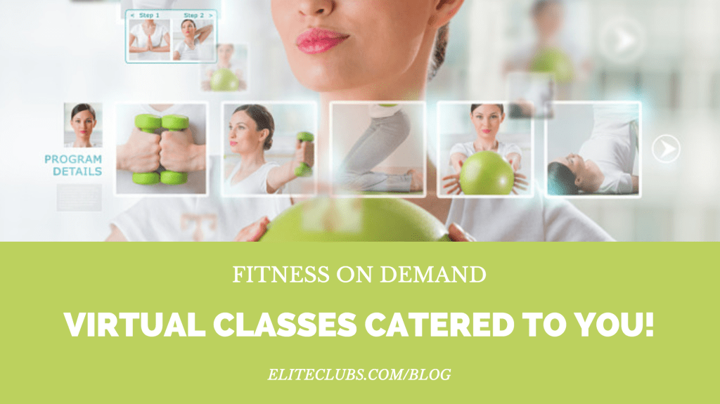 Fitness On Demand: Virtual Classes Catered to You!