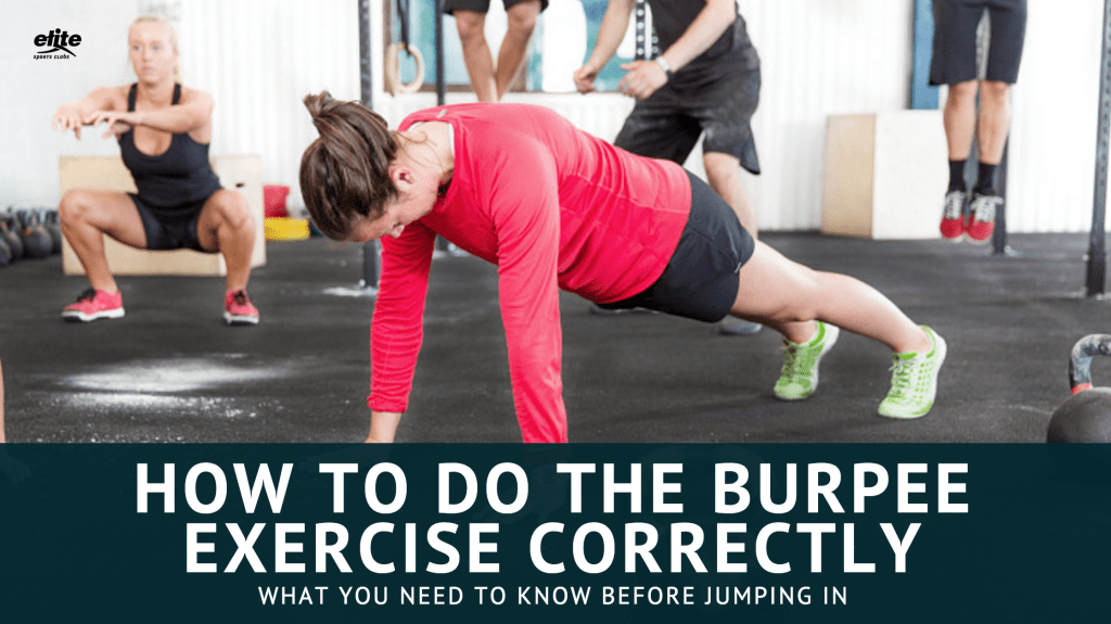 How to Do the Burpee Exercise Correctly