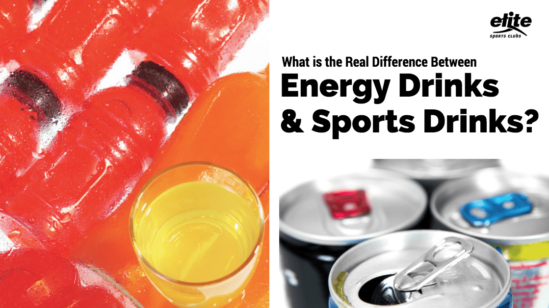 What is the Real Difference Between Energy Drinks & Sports Drinks?