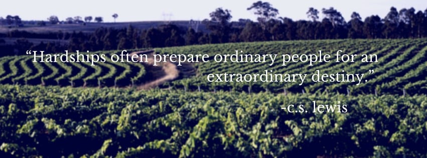 """Hardships often prepare ordinary people for an extraordinary destiny."""