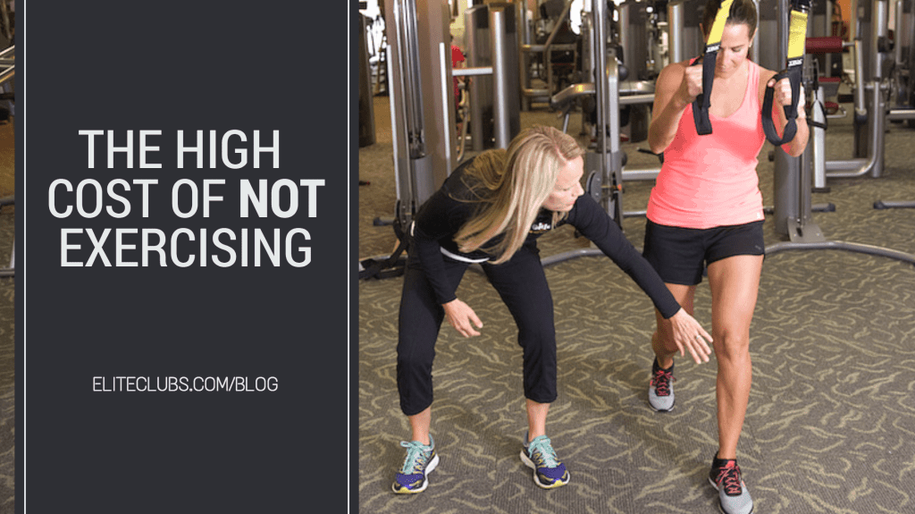 The High Cost of Not Exercising