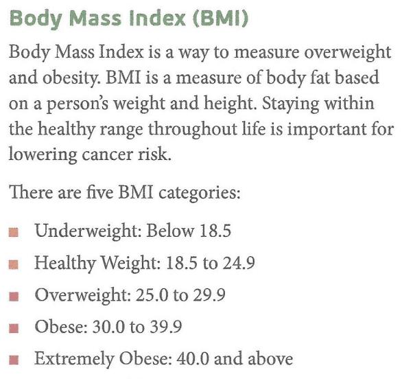 BMI Measurements