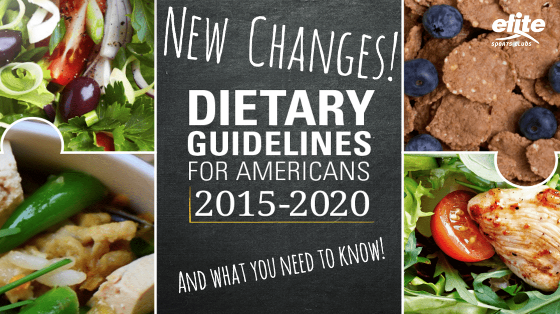 Changes in Dietary Guidelines for Americans - What You Need to Know