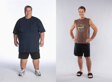 Before and After Biggest Loser