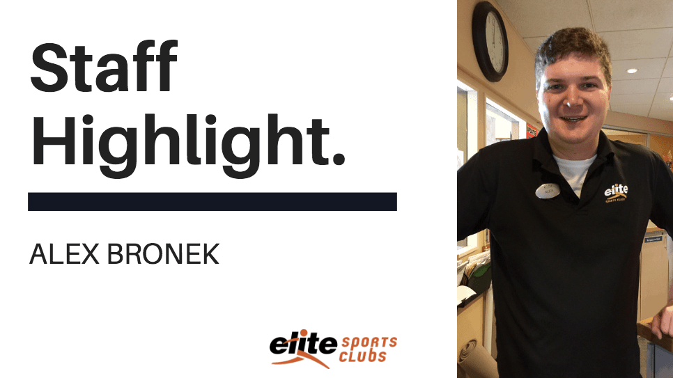 Staff Highlight - Alex Bronek