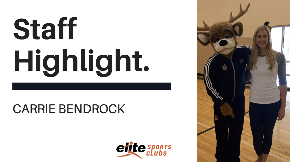 Elite Staff Highlight - Carrie Bendrock