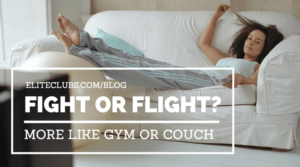 Fight Or Flight? More Like Gym Or Couch