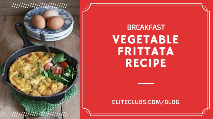 Breakfast Vegetable Frittata Recipe