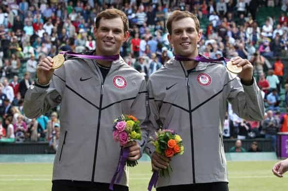 Bryan Brothers with gold medals