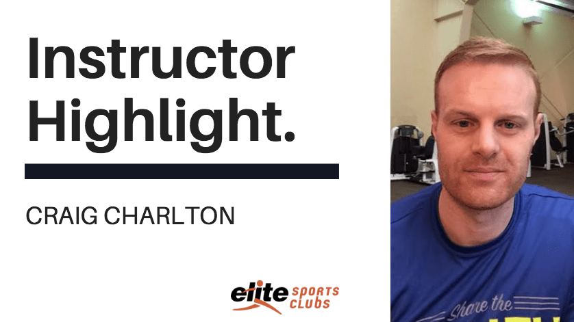 Instructor Highlight: Craig Charlton