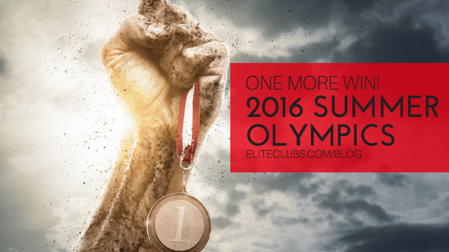 One More Win - 2016 Summer Olympics