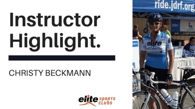 Instructor Highlight - Christy Beckmann