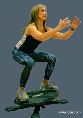 Ski Prep Workout - Coreboard Squat Jump