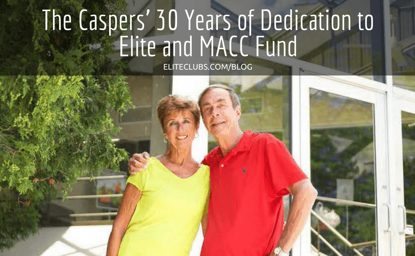 The Caspers 30 Years of Dedication to Elite and MACC Fund