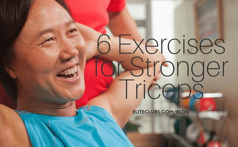6 Exercises for Stronger Triceps
