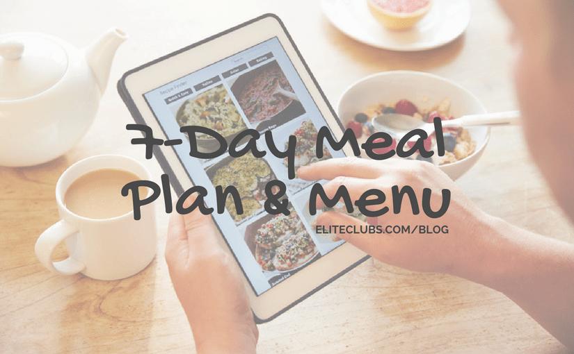 7-Day Meal Plan & Menu