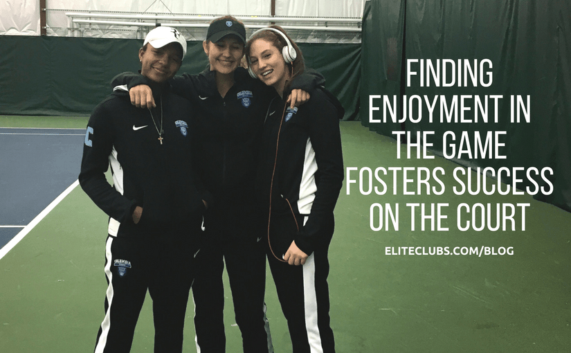 Finding Enjoyment in the Game Fosters Success on the Court