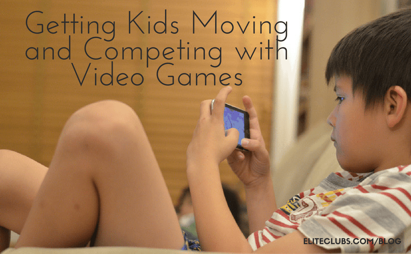 Getting Kids Moving and Competing with Video Games
