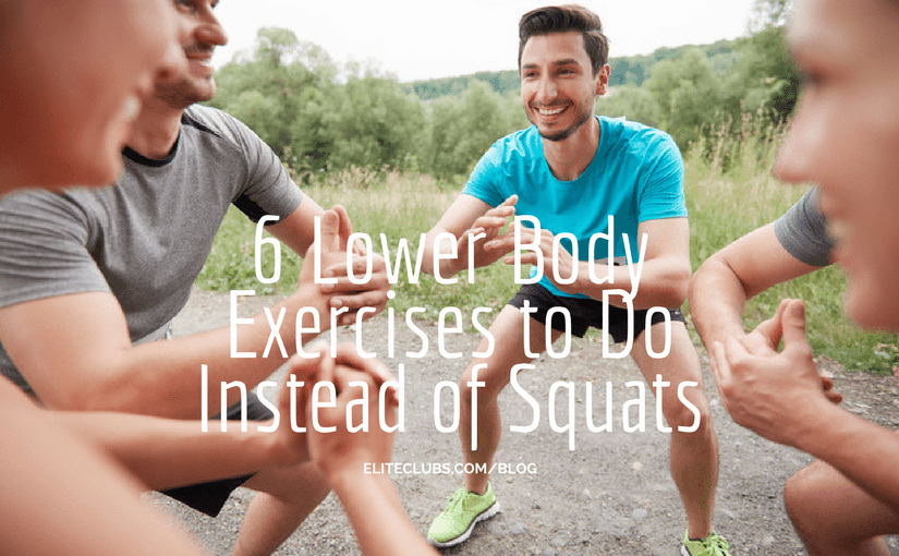 6 Lower Body Exercises to Do Instead of Squats