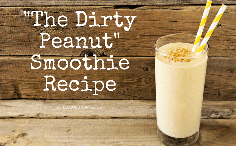 Dirty Peanut Smoothie Recipe