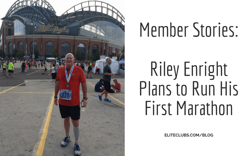 Member Stories - Riley Enright Plans to Run His First Marathon
