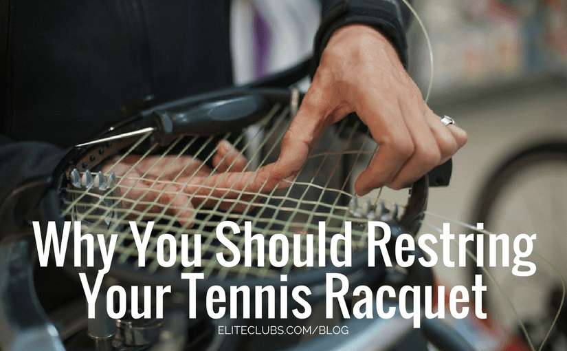 Why You Should Restring Your Tennis Racquet