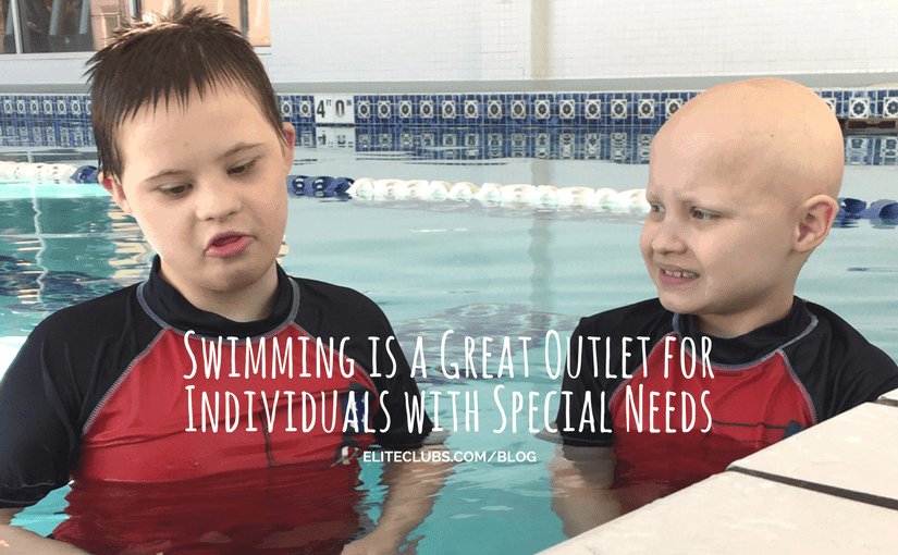 Swimming is a Great Outlet for Individuals with Special Needs