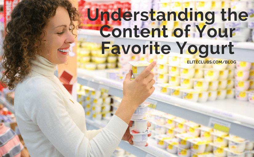 Understanding the Content of Your Favorite Yogurt