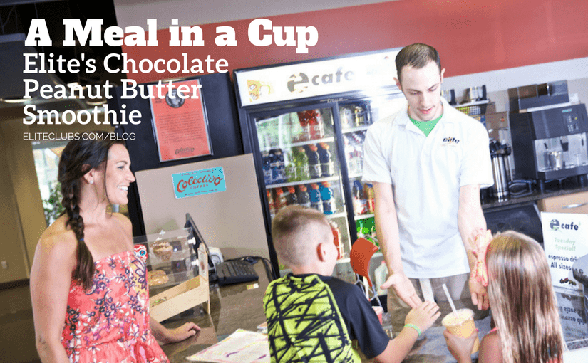 Elite's Chocolate Peanut Butter Smoothie: A Meal in a Cup