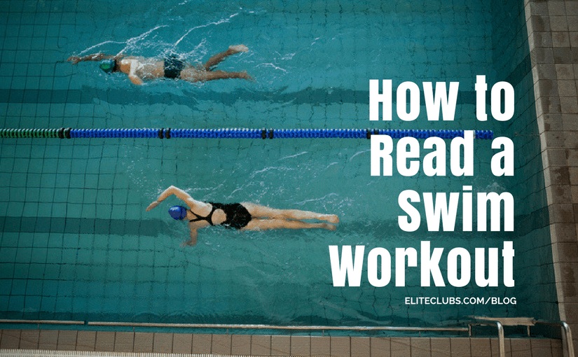 How to Read a Swim Workout