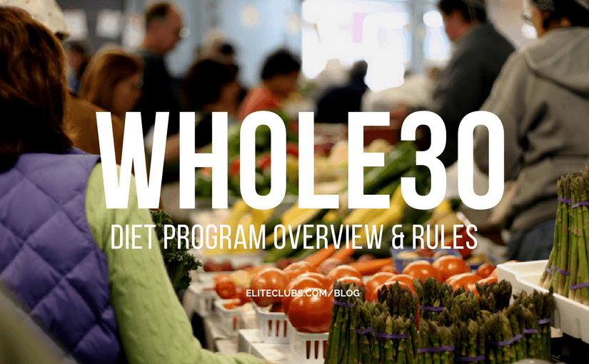 Whole30 Diet Program Overview and Rules