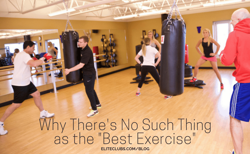 Why There's No Such Thing as the Best Exercise