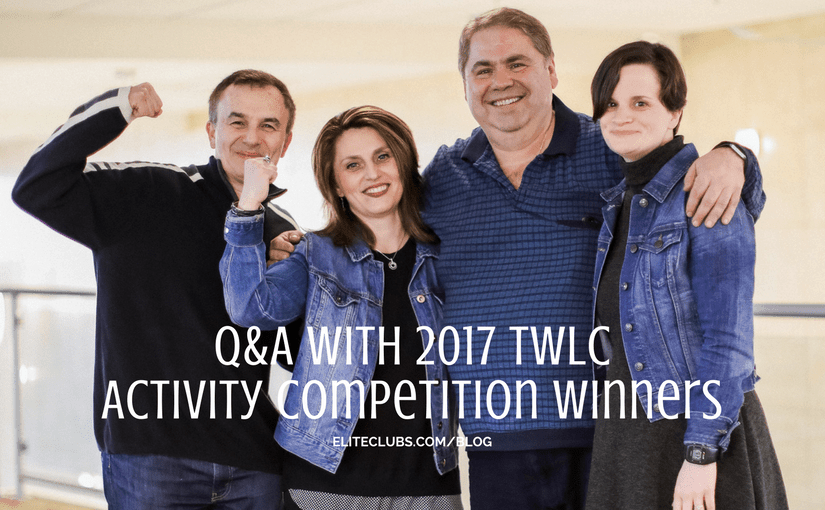 2017 TWLC Activity Competition Winners