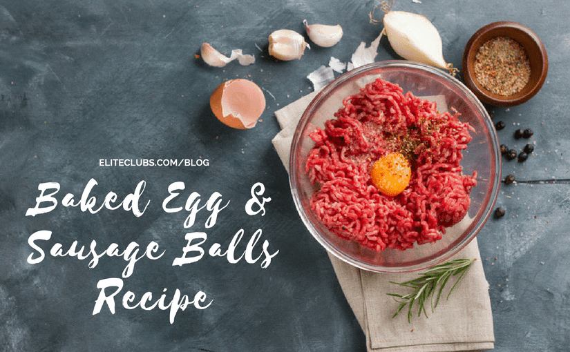 Baked Egg and Sausage Balls Recipe