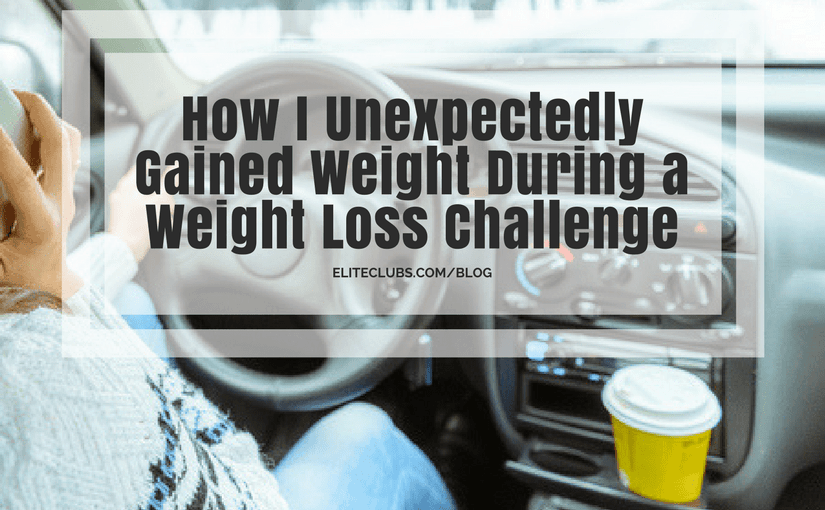 How I Unexpectedly Gained Weight During a Weight Loss Challenge