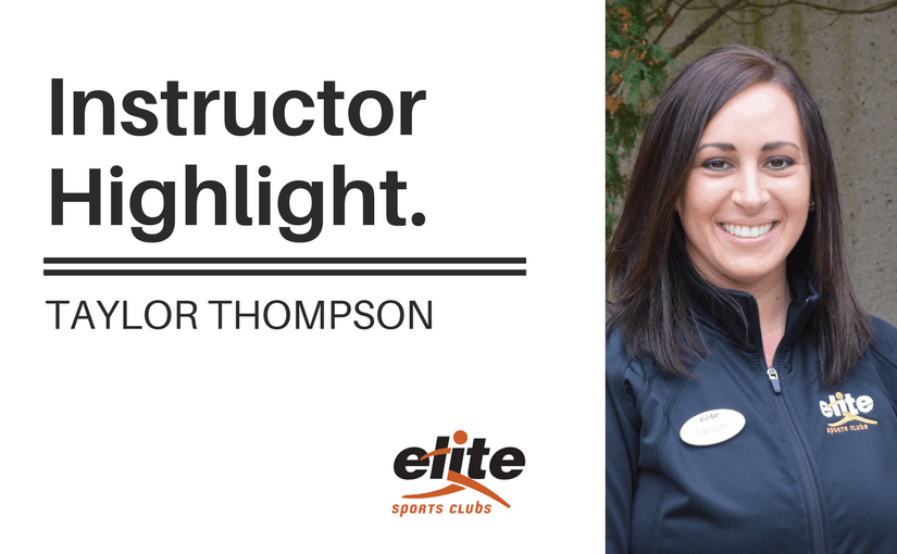 Instructor Highlight - Taylor Thompson