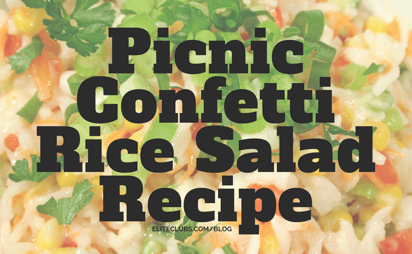 Picnic Confetti Rice Salad Recipe